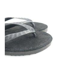 「豚革」(ブラック)ビーチサンダル 26cm・27cm 2サイズ