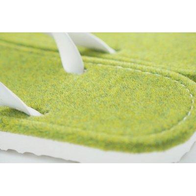 画像2: 「芝生」(新色)ビーチサンダル 24cm・27cm 2サイズ