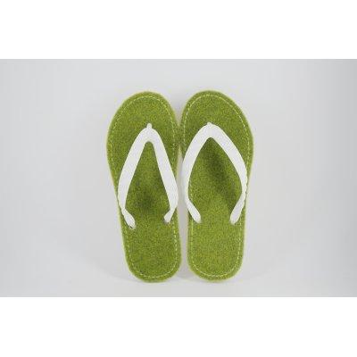 画像3: 「芝生」(新色)ビーチサンダル 24cm・27cm 2サイズ